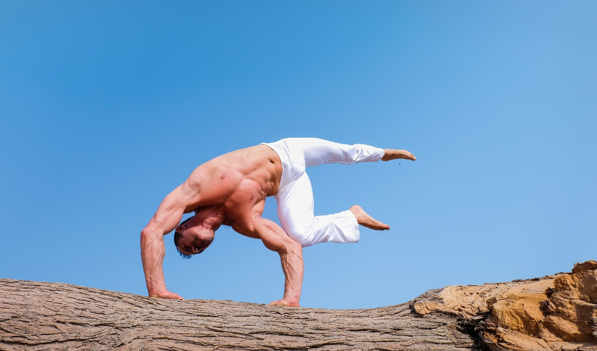 Yoga moves for stronger core