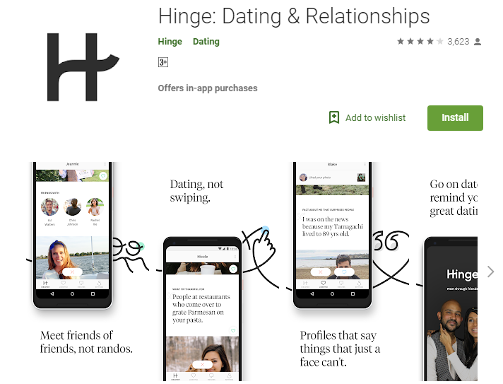 Dating app, to end all dating anxiety