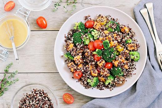 Quinoa On Salads