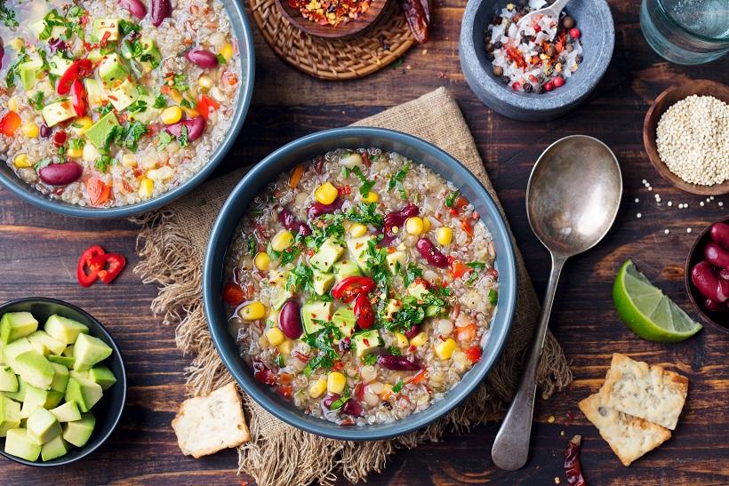 Quinoa In Soups