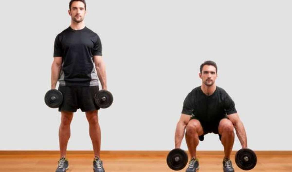 Squat - the proper position