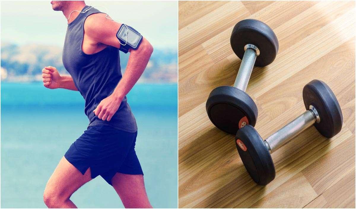 Balance between cardio and training