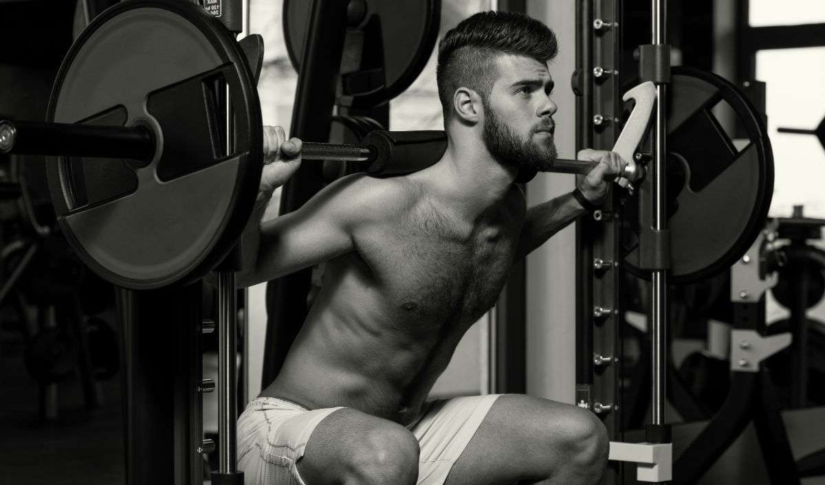 Bodyweight squats, muscle and fitness, workout plans for men, Fitness Workout