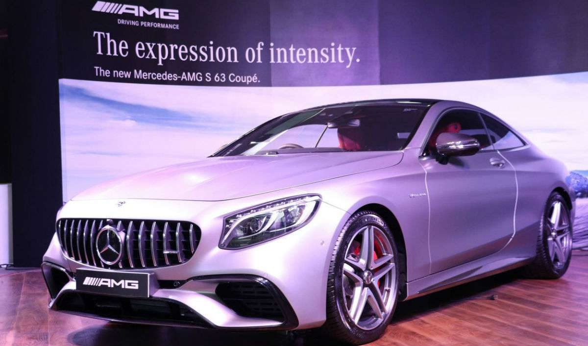 Mercedes Unveils AMG S63 Coupe In India