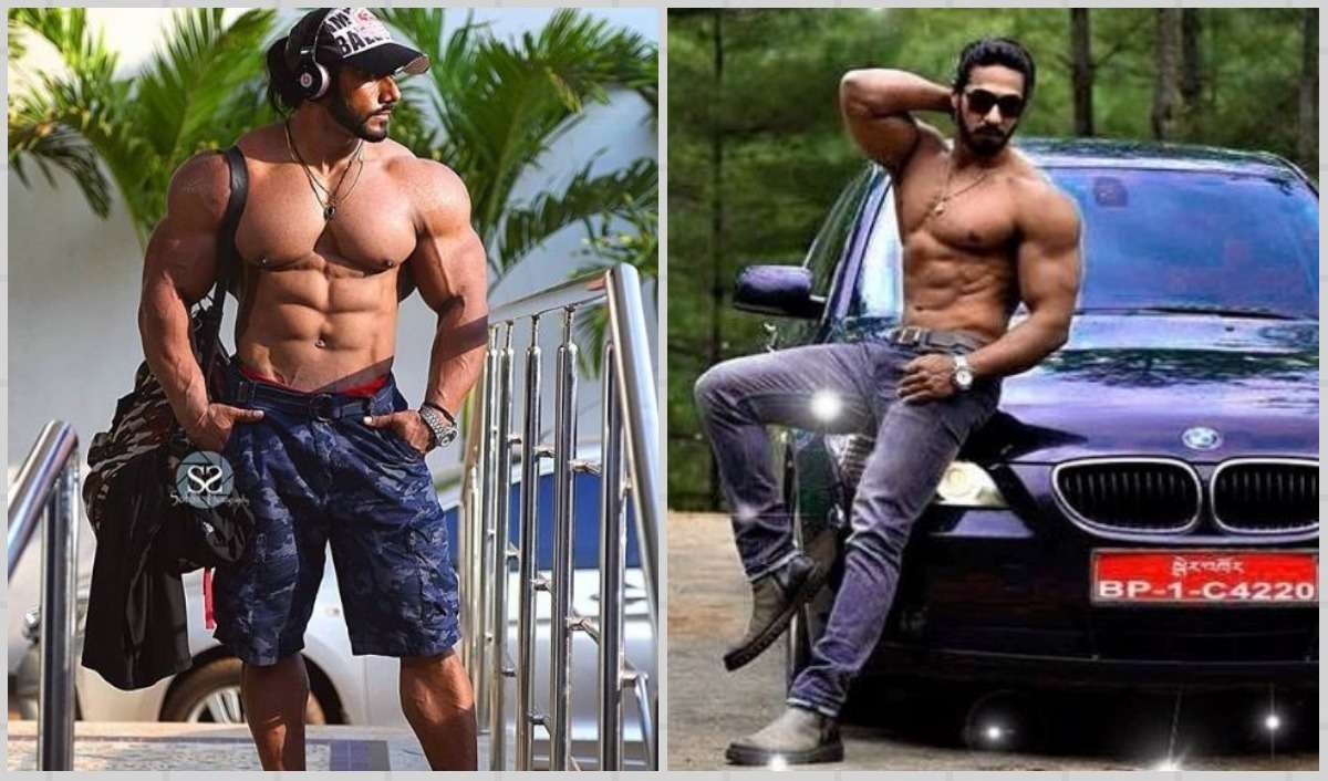 Indian bodybuilder, muscle and fitness, health and fitness, fitness workout