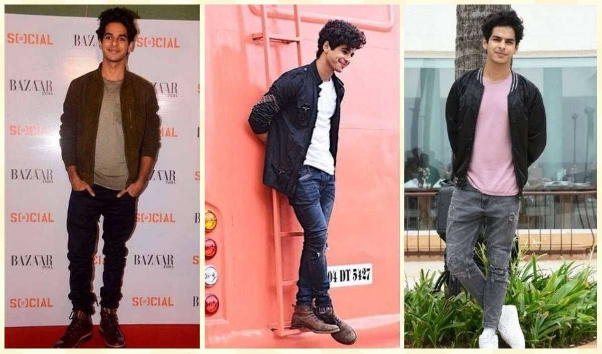 Ishaan Khatter Casual Style