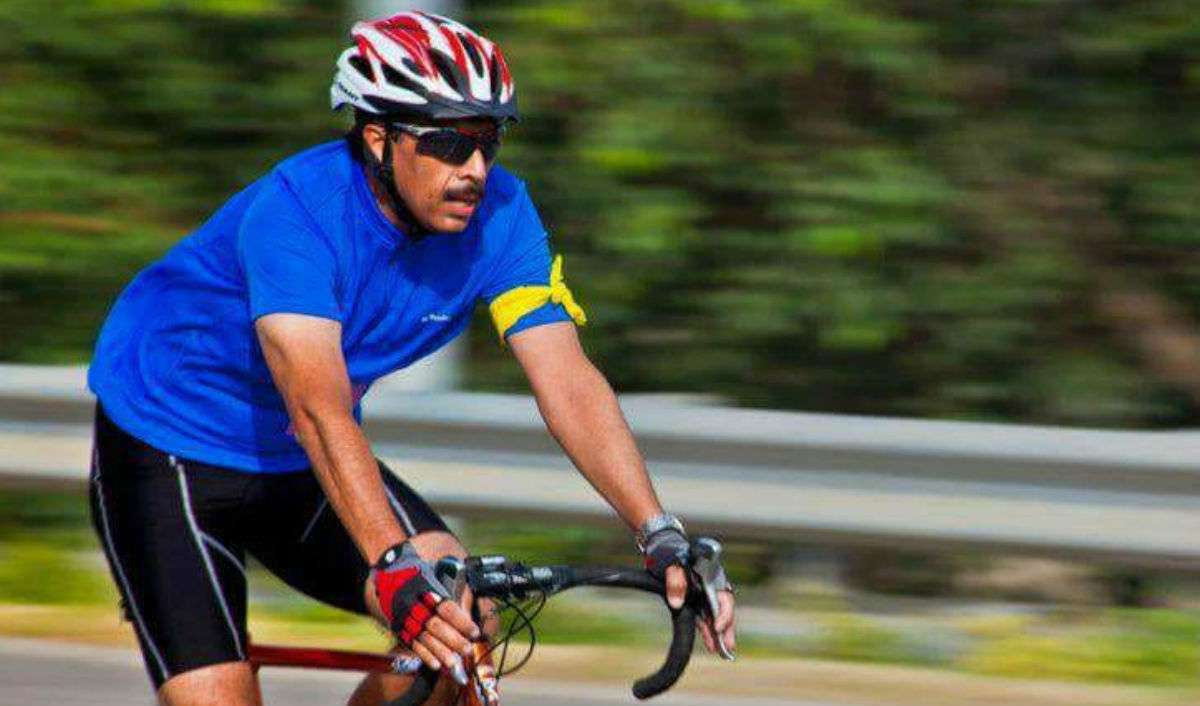Major General Vikram Dev Dogra, Ironman triathlon