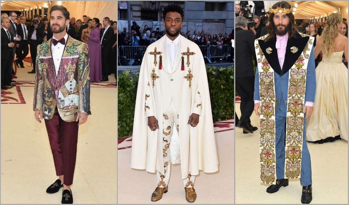 Best dressed man at metgala