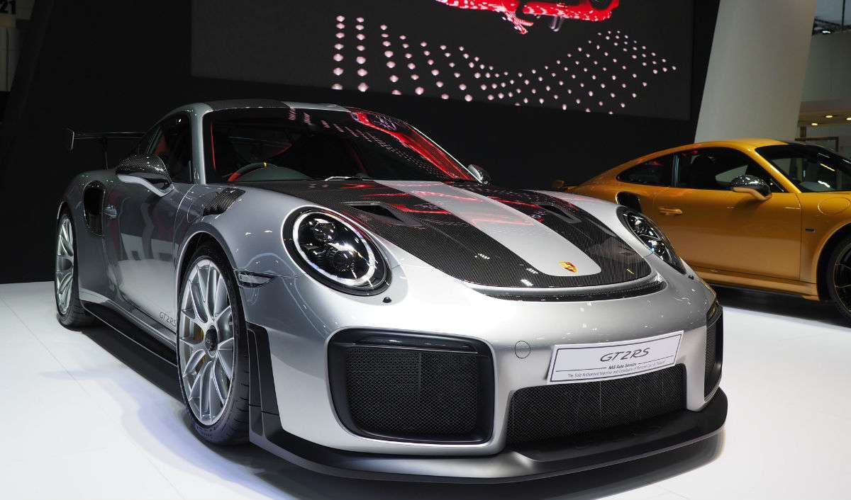 Porsche 911 GT2 RS car launch