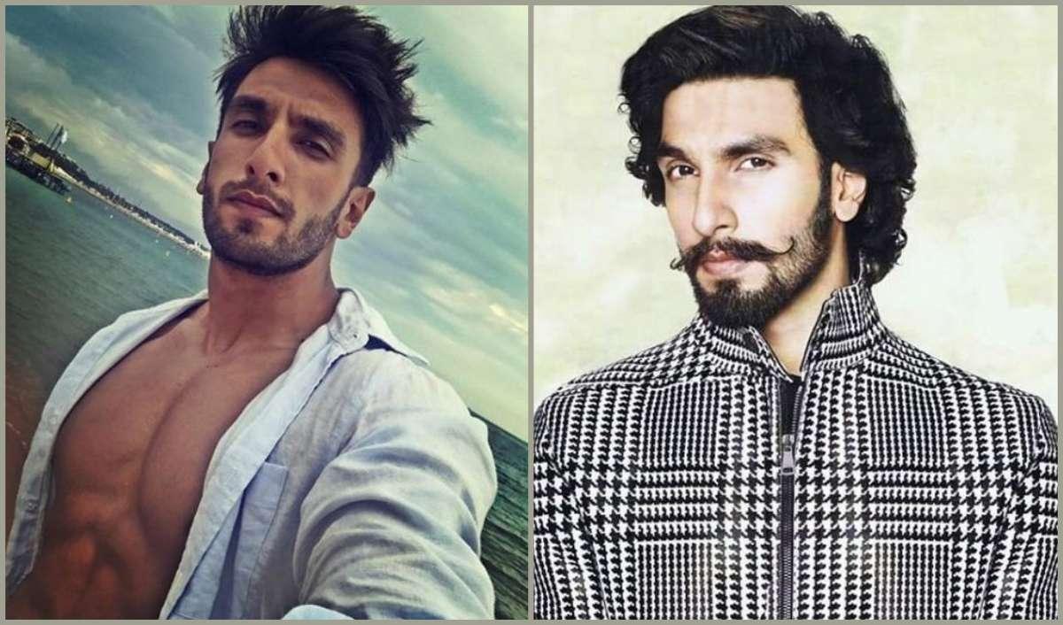 Ranveer Singh Moustache styles