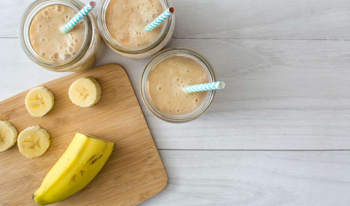 This Banana Pumpkin Protein Shake Will Feed Your Muscles—And Your Sweet Tooth