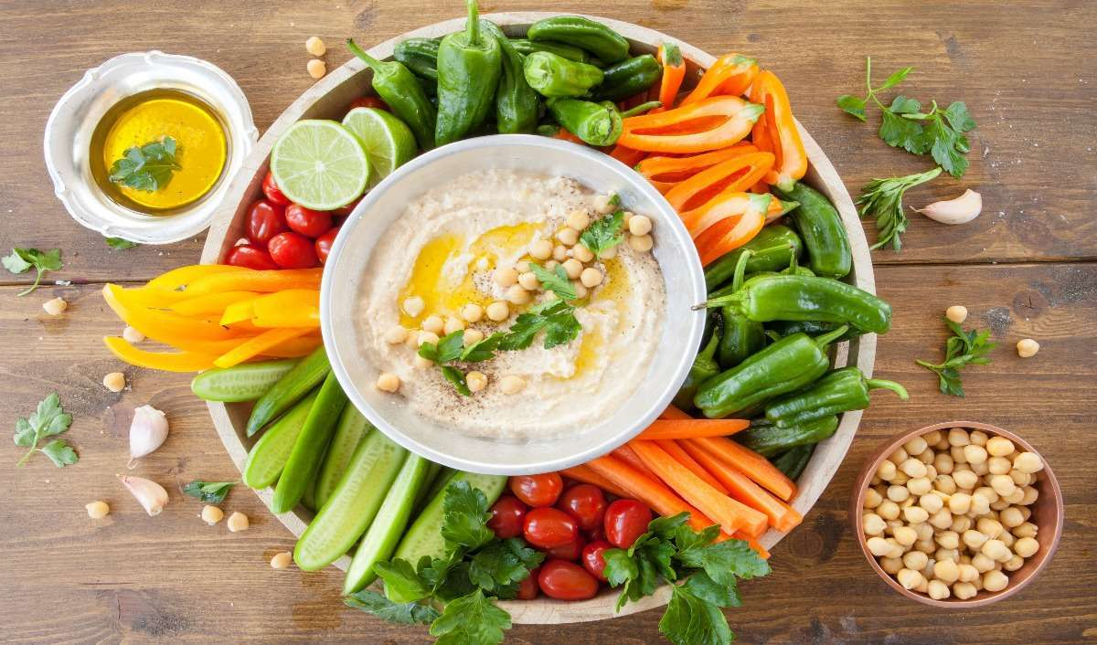 Can Hummus shrink your gut