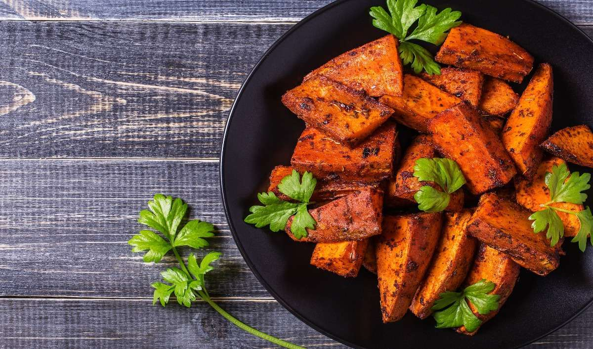 Sweet Potatoes for six pack abs