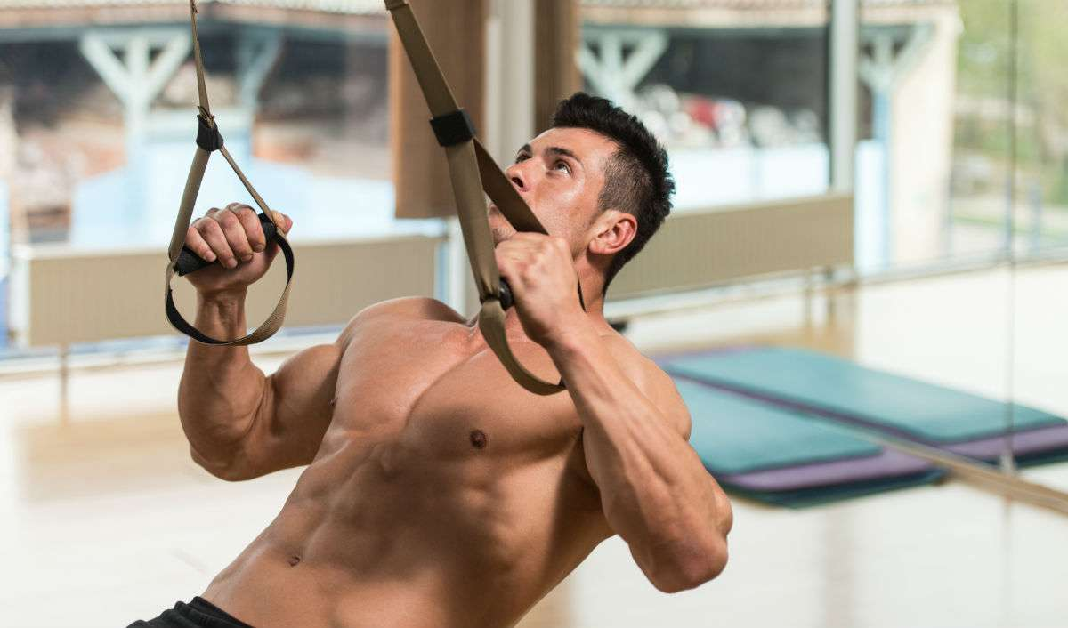 TRX workout core
