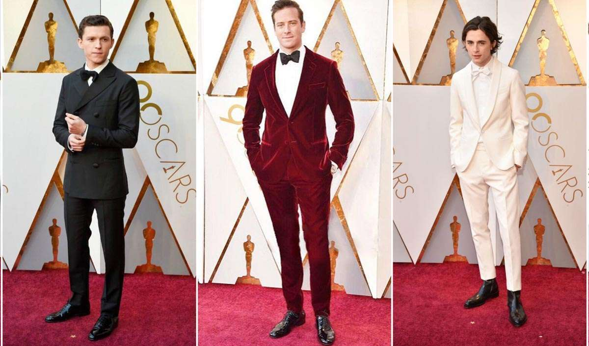 Oscars 2018: The Best Dressed Men On The Red Carpet