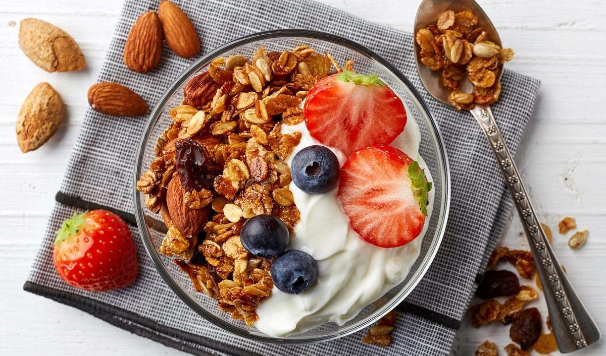 Greek Yogurt and Dried Fruit