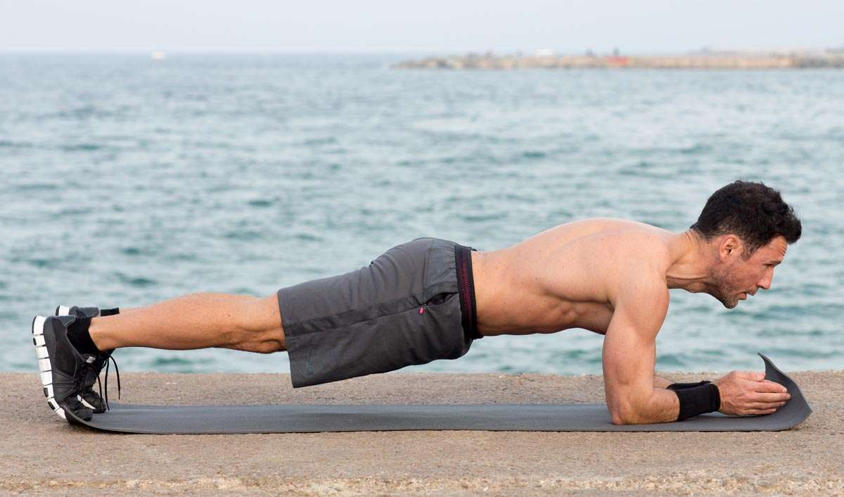 Plank Your Way to an 'Iron Man' Body