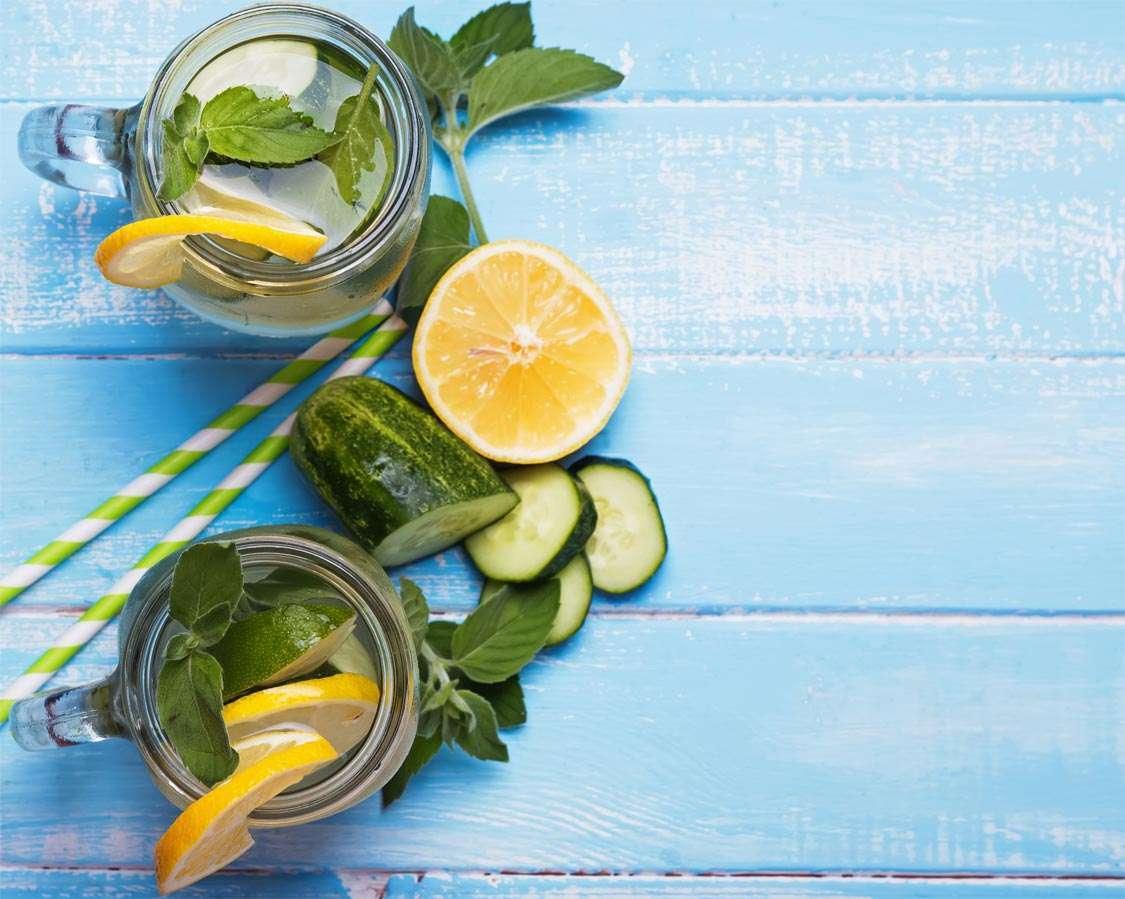 Cucumber- Mint Water