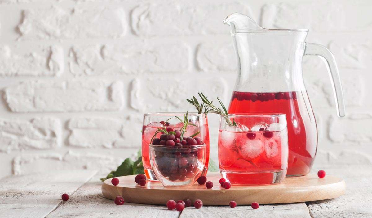 Cranberry Infused Water