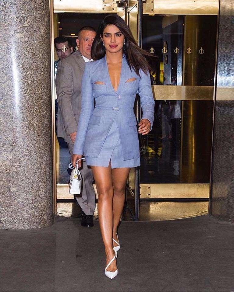 Priyanka Chopra Denim look
