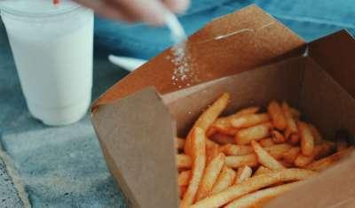 fries for badness