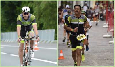 major general vikram dev dogra ironman triathlon