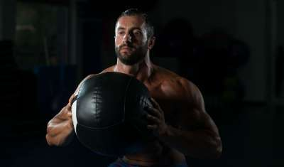 Ball Slams, workout, exercises for men