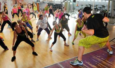 Aerobic benefits of Zumba