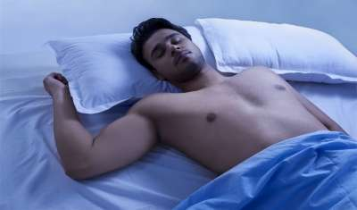 Sleeping in Nude