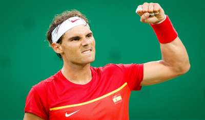 Rafael Nadal wins the tournament