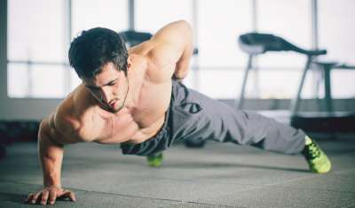 how to do single arm pushup
